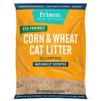 Frisco Corn & Wheat Cat Litter