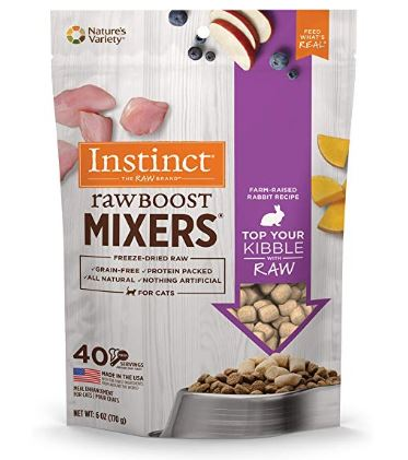 Nature's Variety Raw Boost Mixers for cats