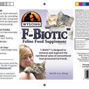 wysong f biotic cat supplement