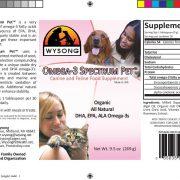 natural omega 3 cats