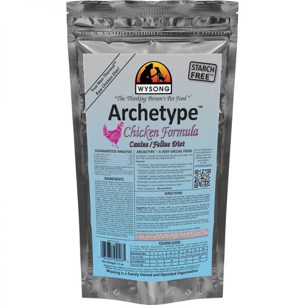 wysong archetype raw food chicken flavor