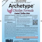 wysong archetype chicken formula