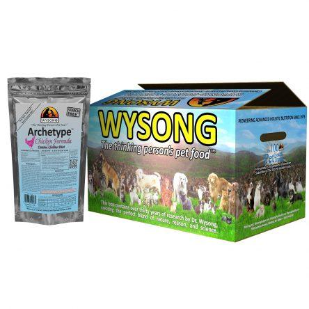Wysong Archetype Raw Cat Food, Chicken Formula, 7.5oz Bag, Case of 12