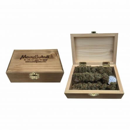 Meowijuana Grand Daddy Purr – Cigar Box