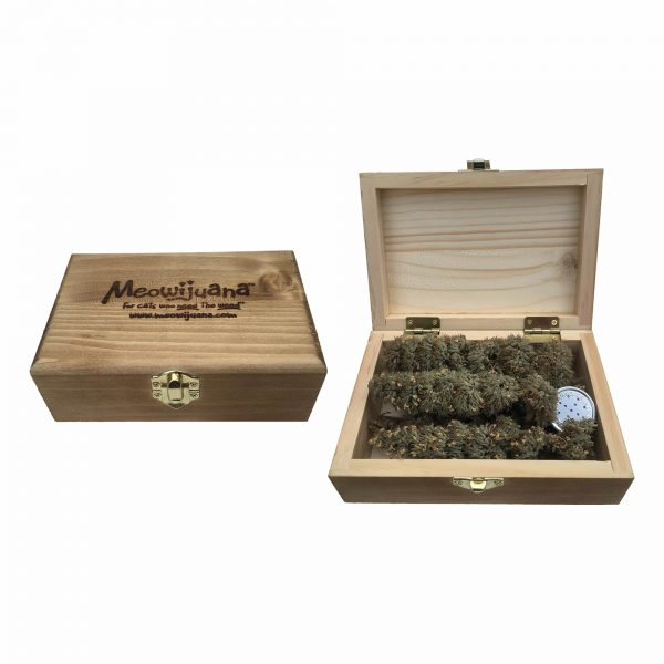 meowijuana grand daddy purr cigar box