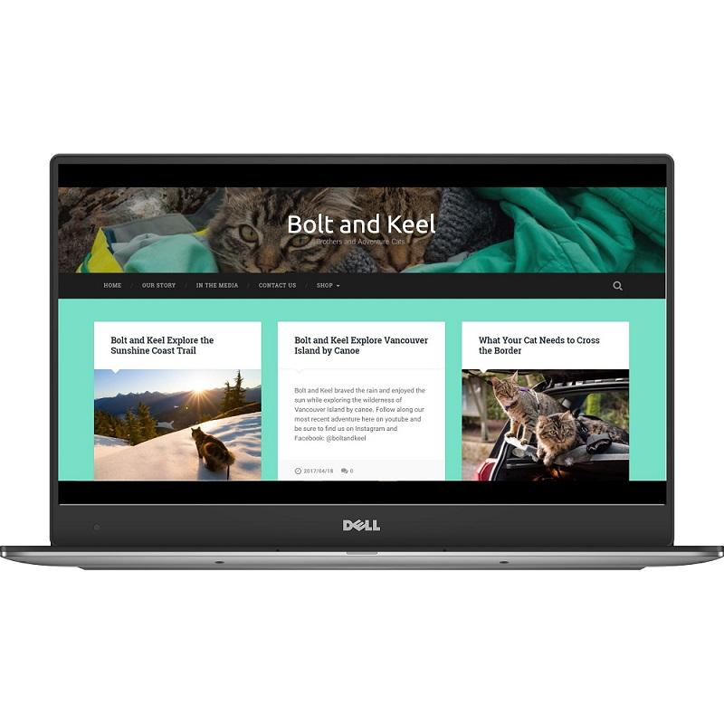 bolt and keel adventurecats website screenshot