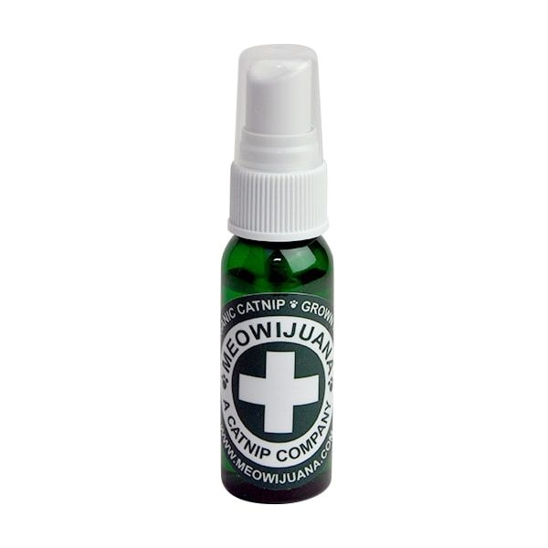 meowijuana natural catnip spray