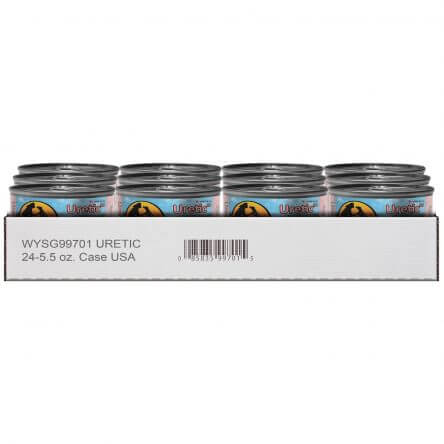 Wysong Uretic Canned Cat Food, 5.5oz, Case of 24