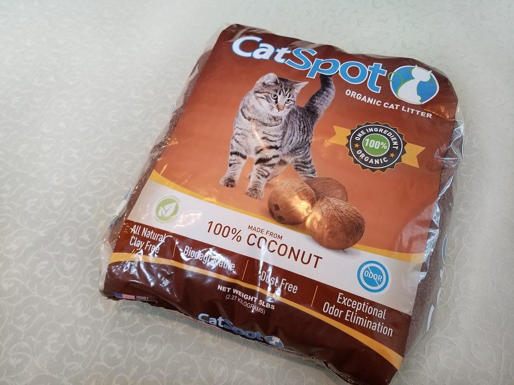 CatSpot Litter Review: We Tried Coconut Cat Litter