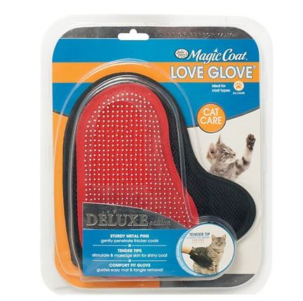 Magic Coat Love Glove grooming glove for cats