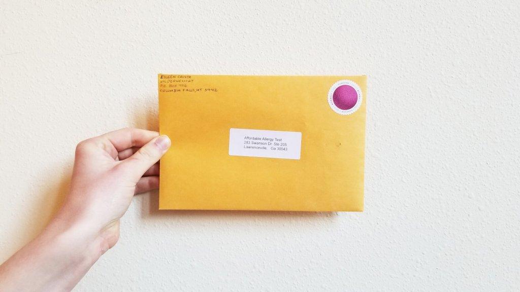 Affordable Pet Test Envelope