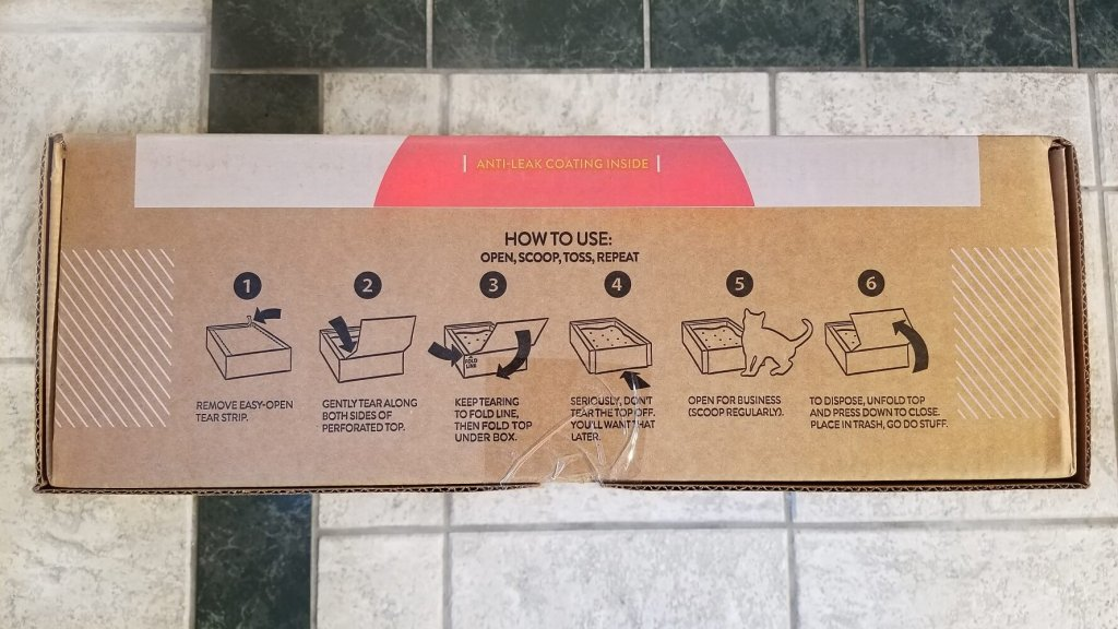Tidy Cats Direct Disposable Litter Box Setup Instructions