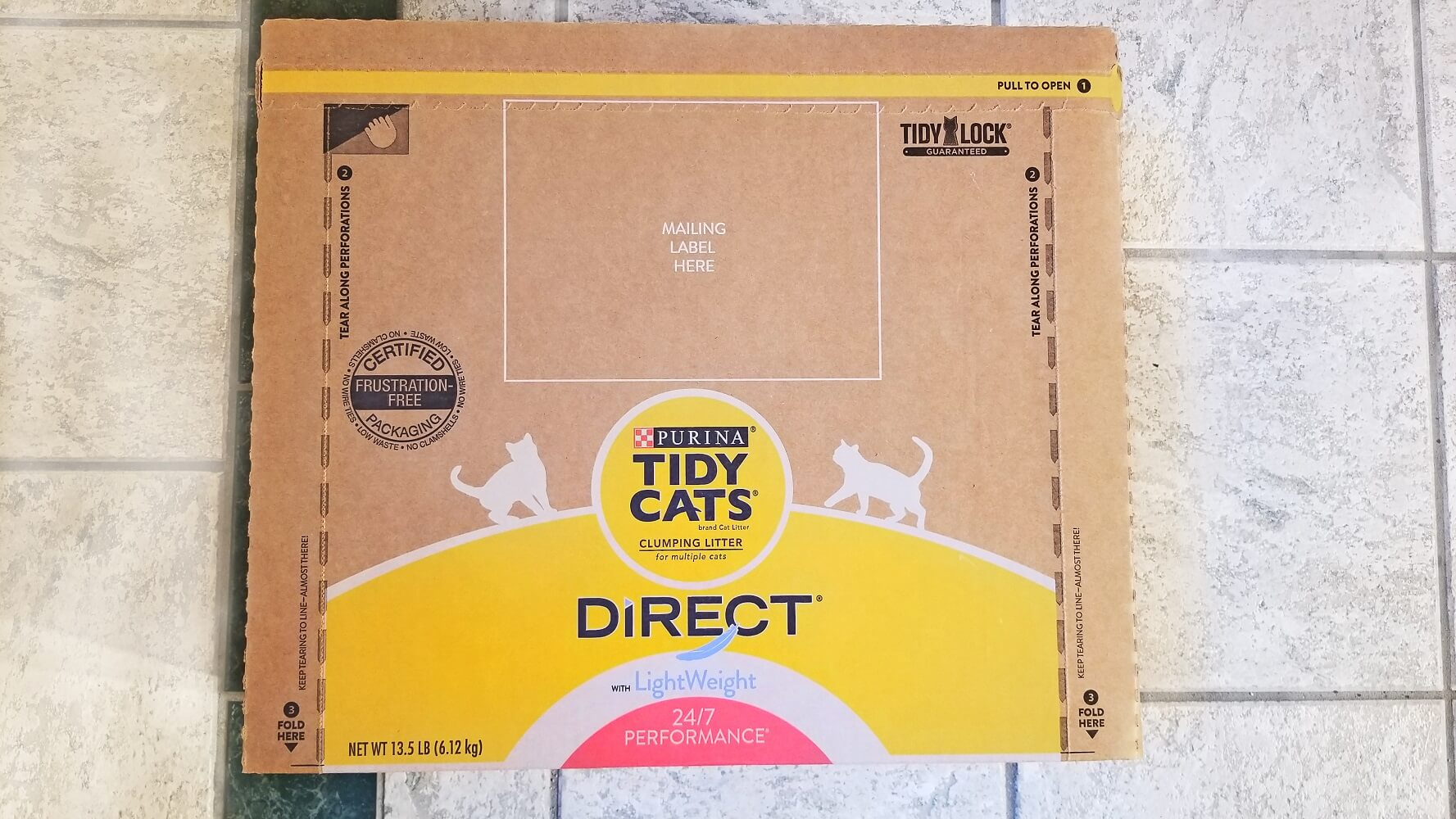 Tidy Cats Direct Disposable Litter Box Review: We Tried a Cardboard Litter Box
