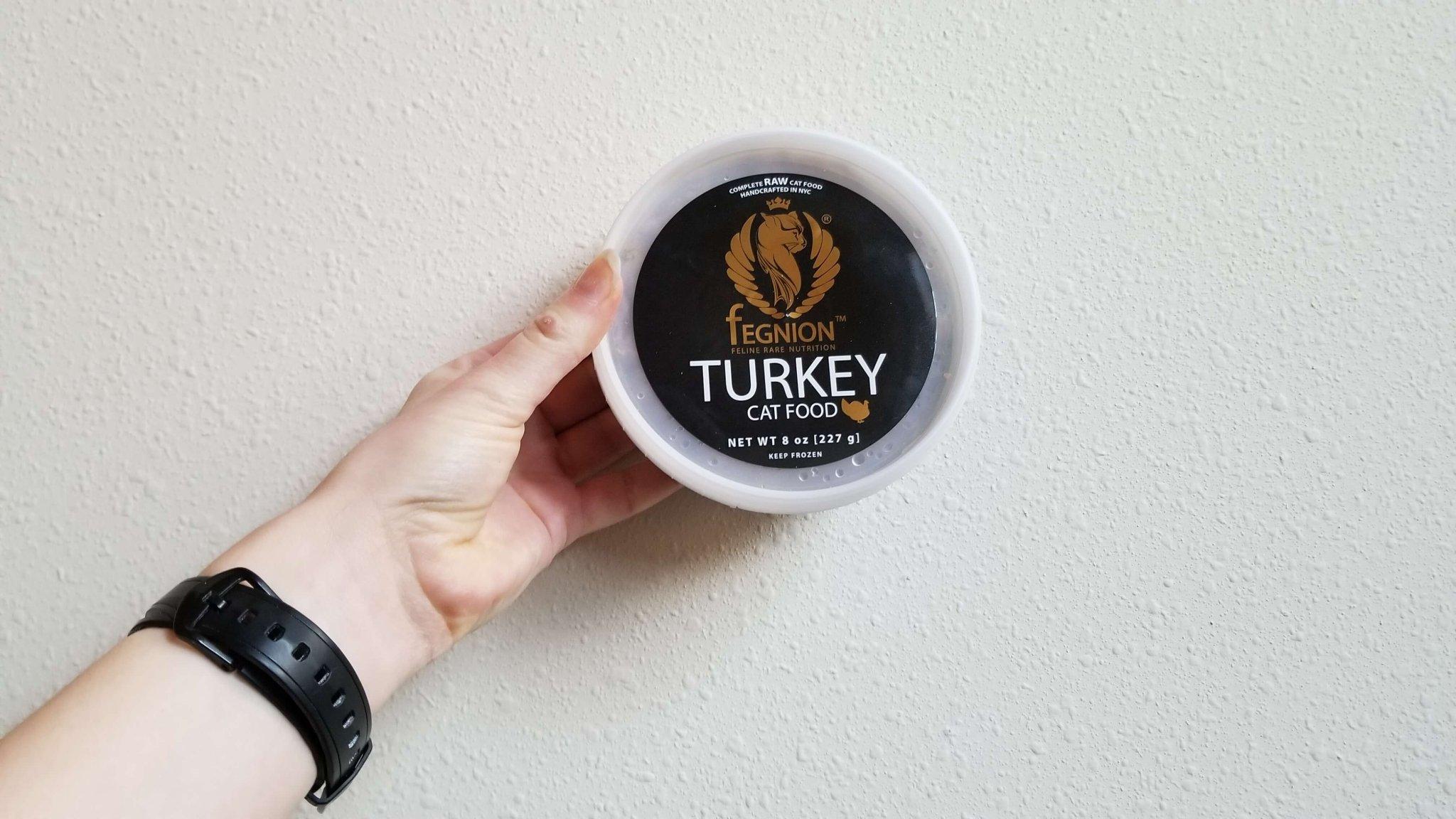Fegnion Raw Turkey Cat Food