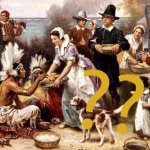 Were there cats at the first Thanksgiving feast?
