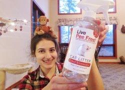Live Pee Free! Review: We Tried a Cat Urine Odor Eliminator