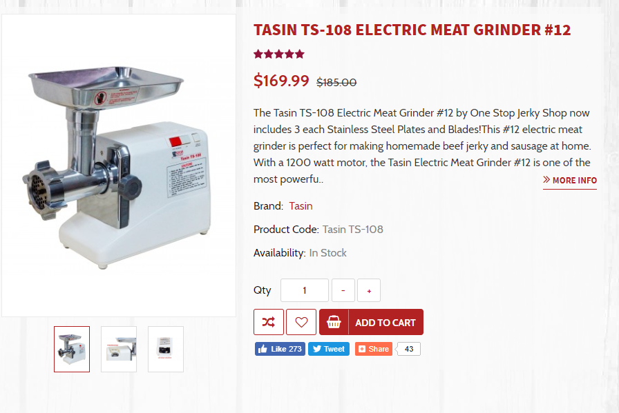 Best meat grinder for raw cat food