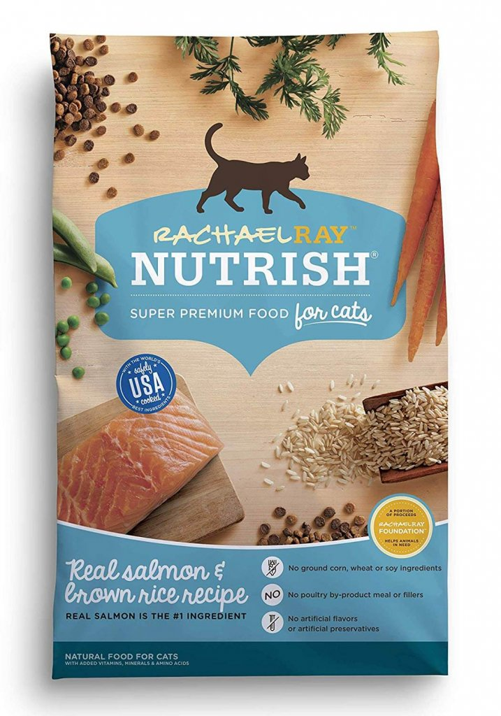 Rachael Ray Nutrish Cat Food vegetable content