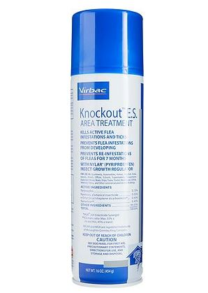 Virbac Knockout flea spray Chewy link
