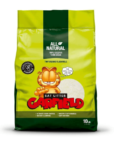 garfield soft best cat litter for sensitive paws