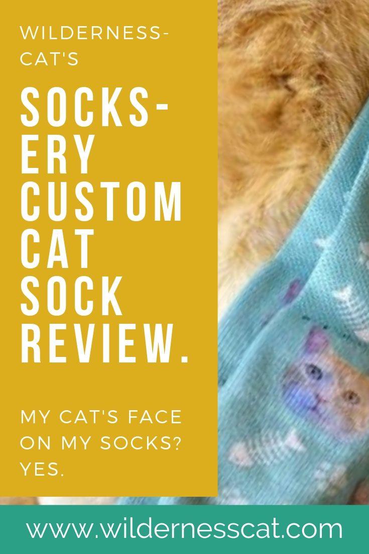 Socksery custom cat socks pinnable