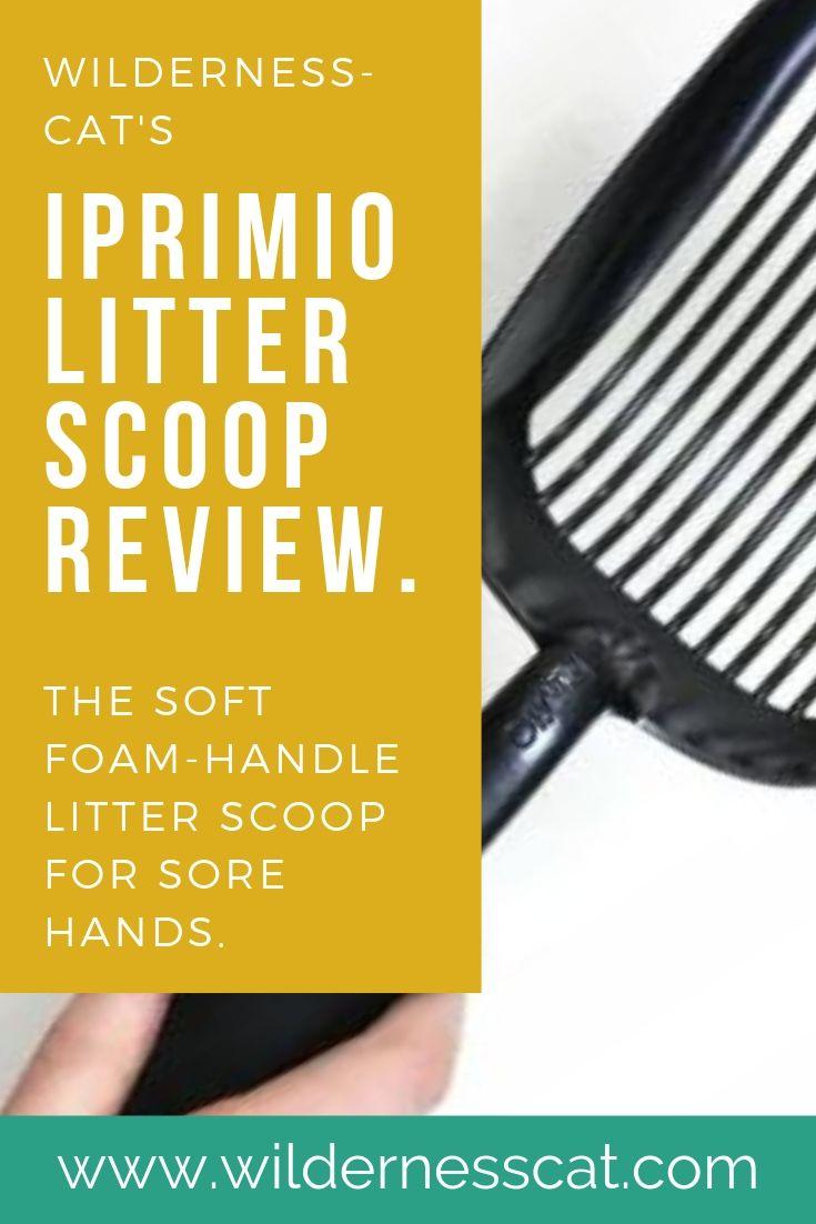 iPrimio Litter Scoop review pin