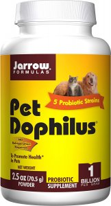 Jarrow Pet Dophilus Probiotics for Cats