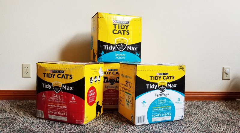 Tidy Max cat litter boxes