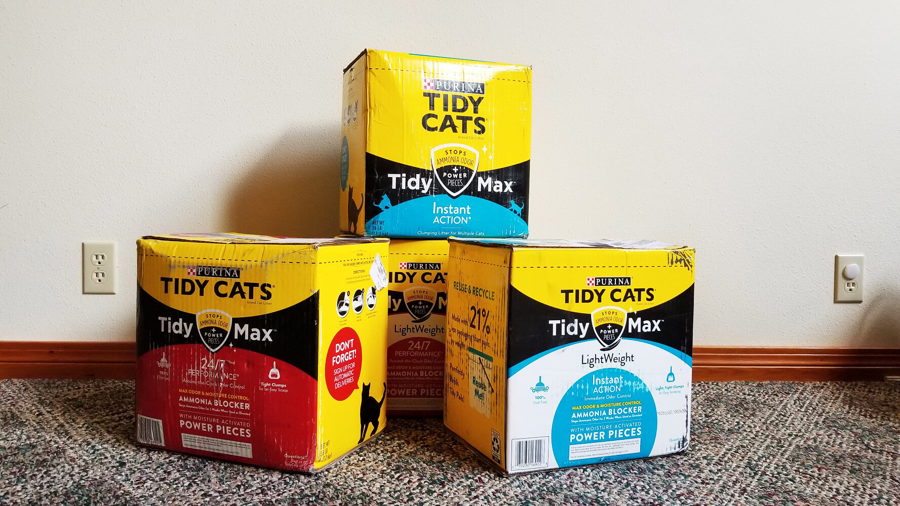 Tidy Max Cat Litter Review We Tried Tidy Cats Online Only