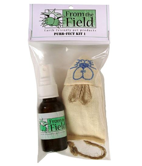 From the Field catnip gift kit