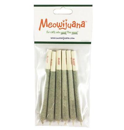 Meowijuana Catnabis catnip joints