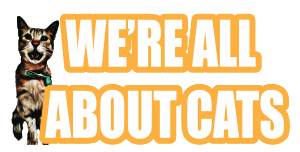 We're All About Cats Logo
