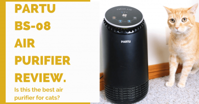 PARTU air purifier for cats review feature